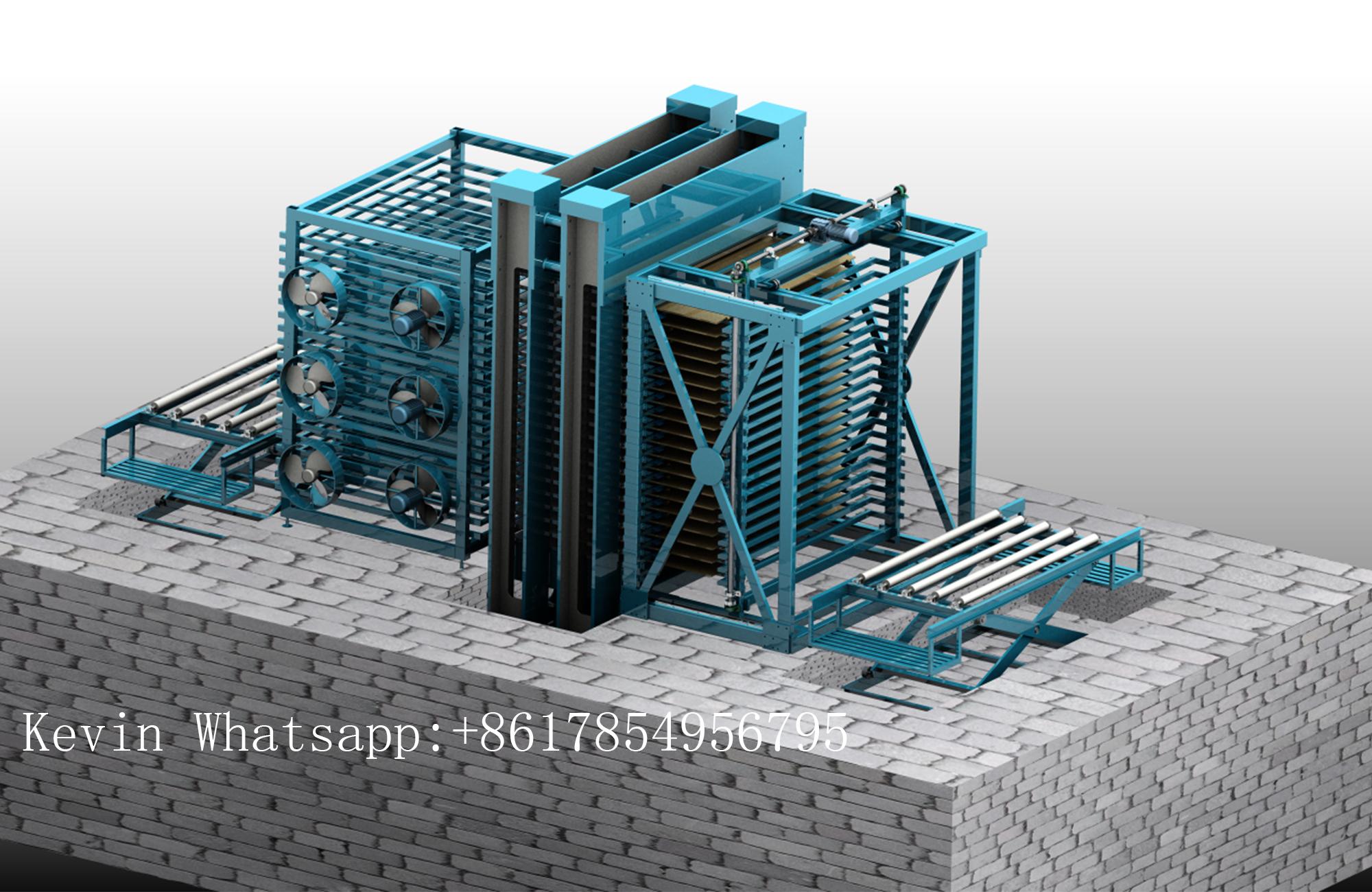 Mesin press panas kayu lapis