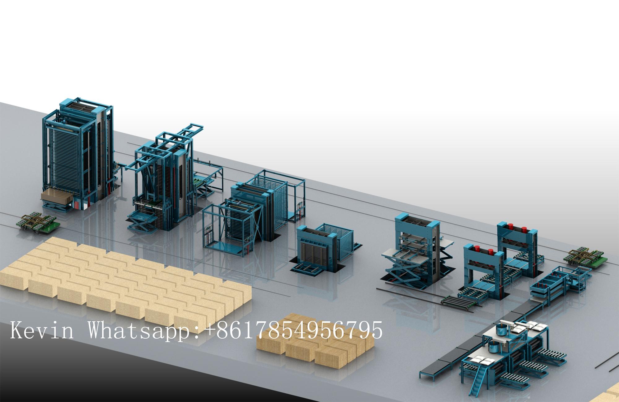 lini produksi otomatis kayu lapis