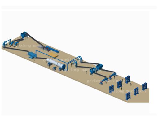 Lini produksi papan partikel
