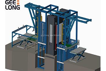 Mesin produksi palet kayu
