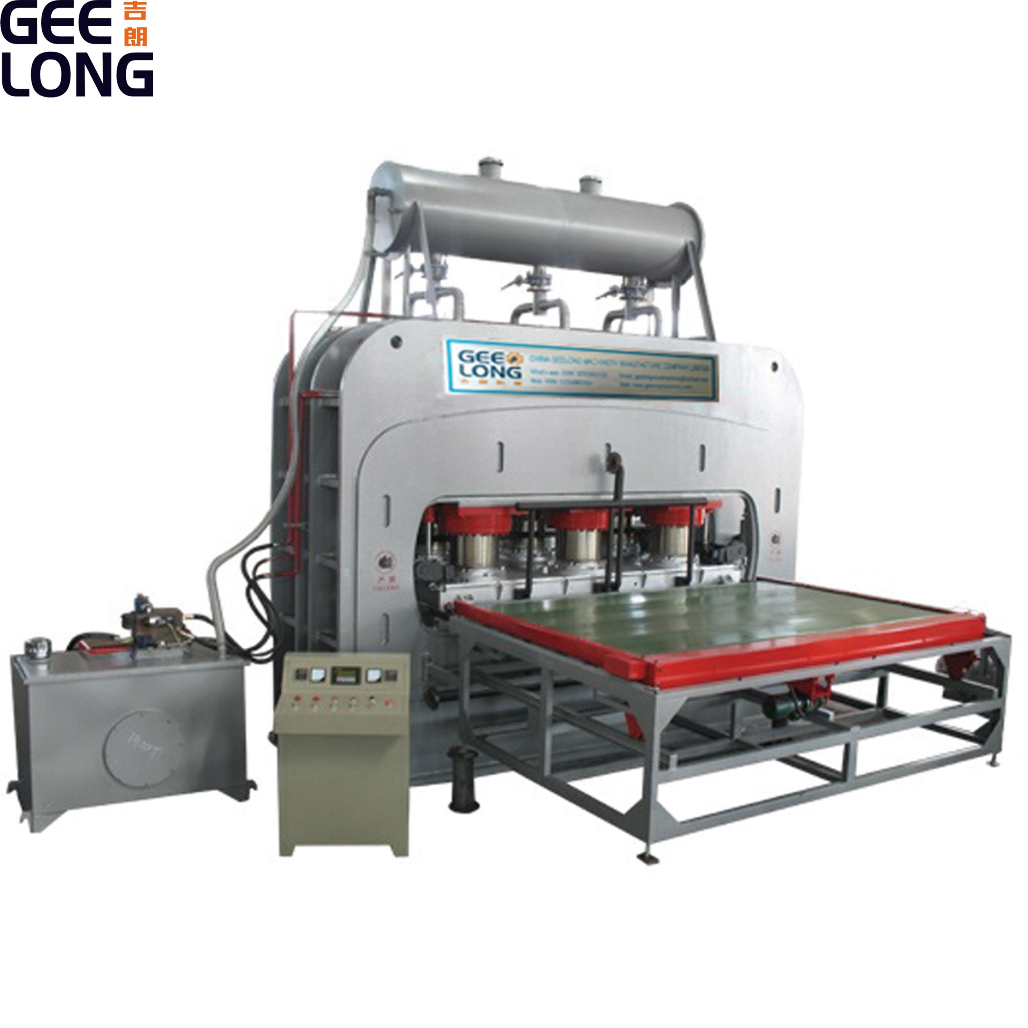 Máquina de producción de aglomerado