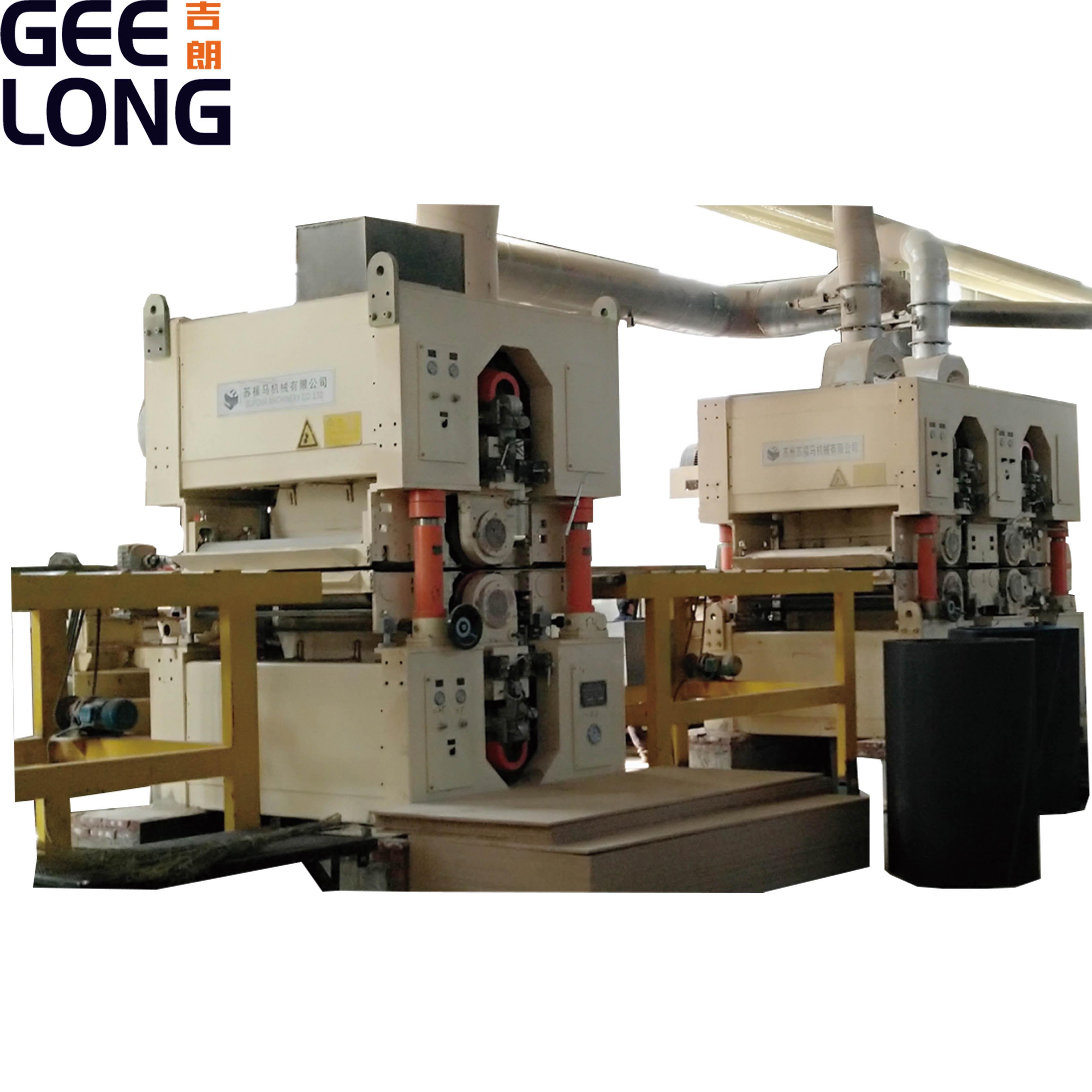 mdf membuat mesin lini produksi hdf