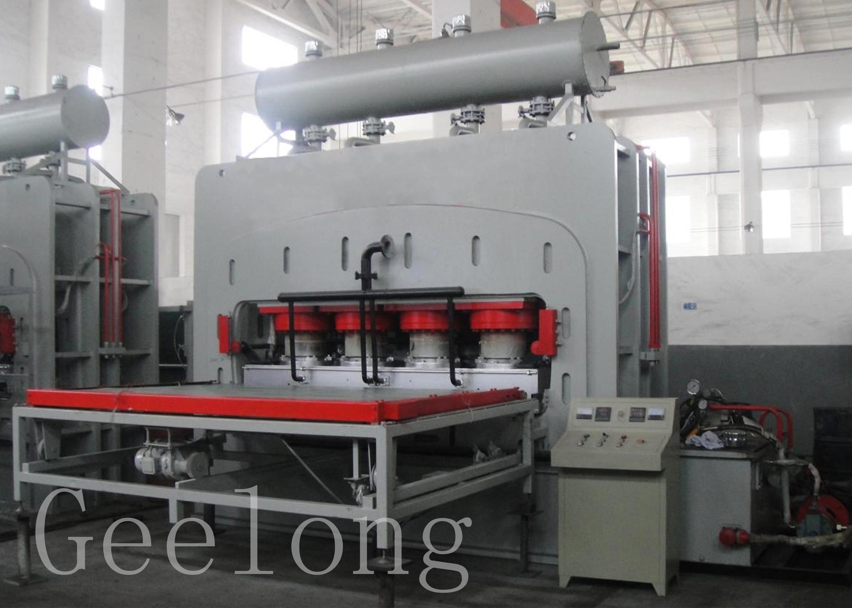 Mesin panas mesin kayu lapis Laminasi