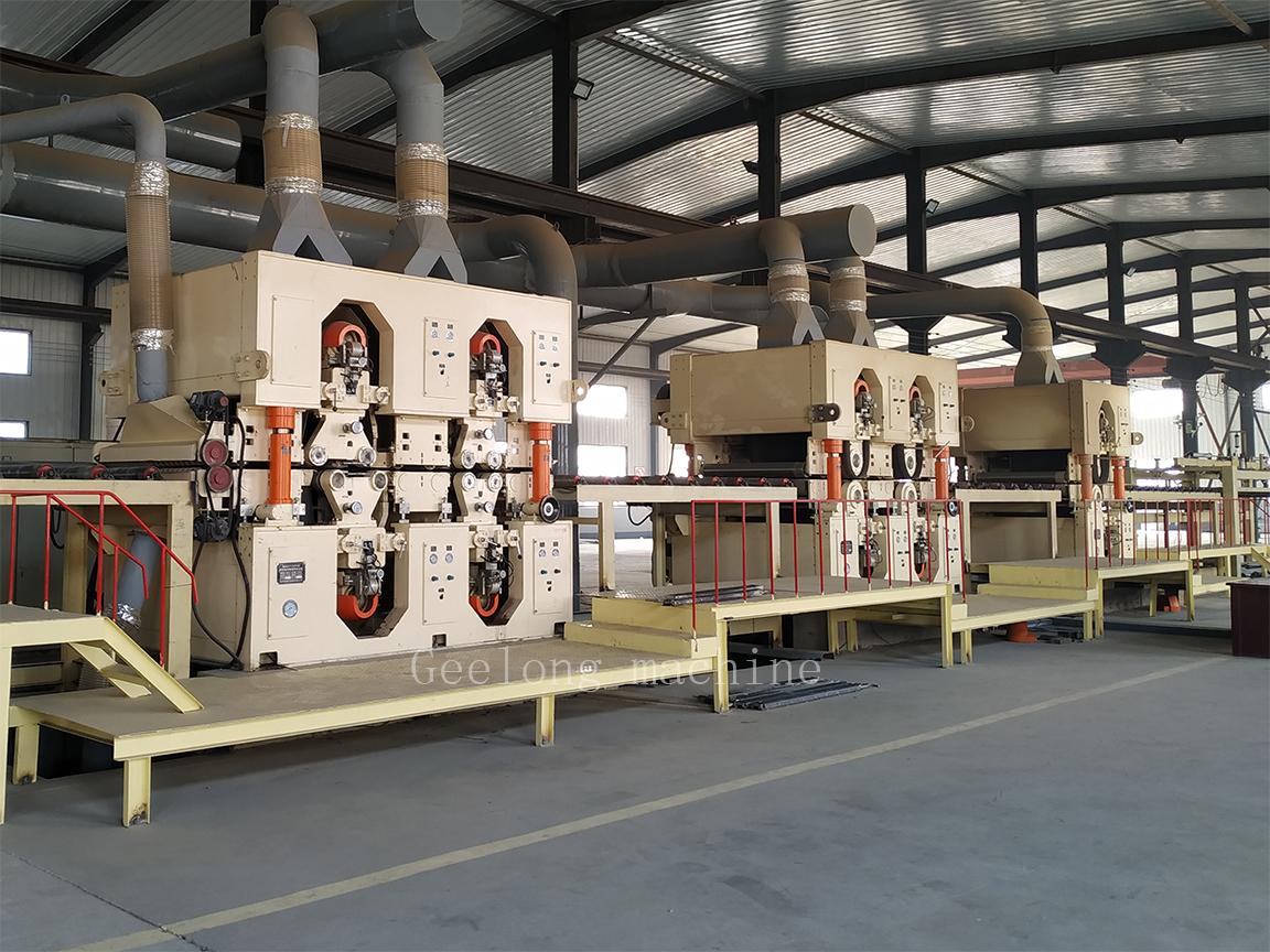 OSB membuat mesin / lini produksi OSB